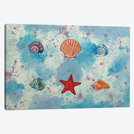 Seashells Canvas Print #MCR234} by Michael Creese Art Print