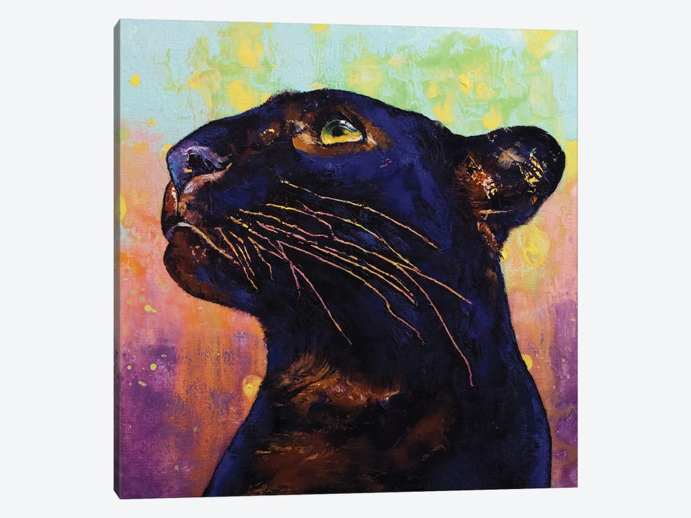 Panther Colors by Michael Creese 1-piece Canvas Art Print