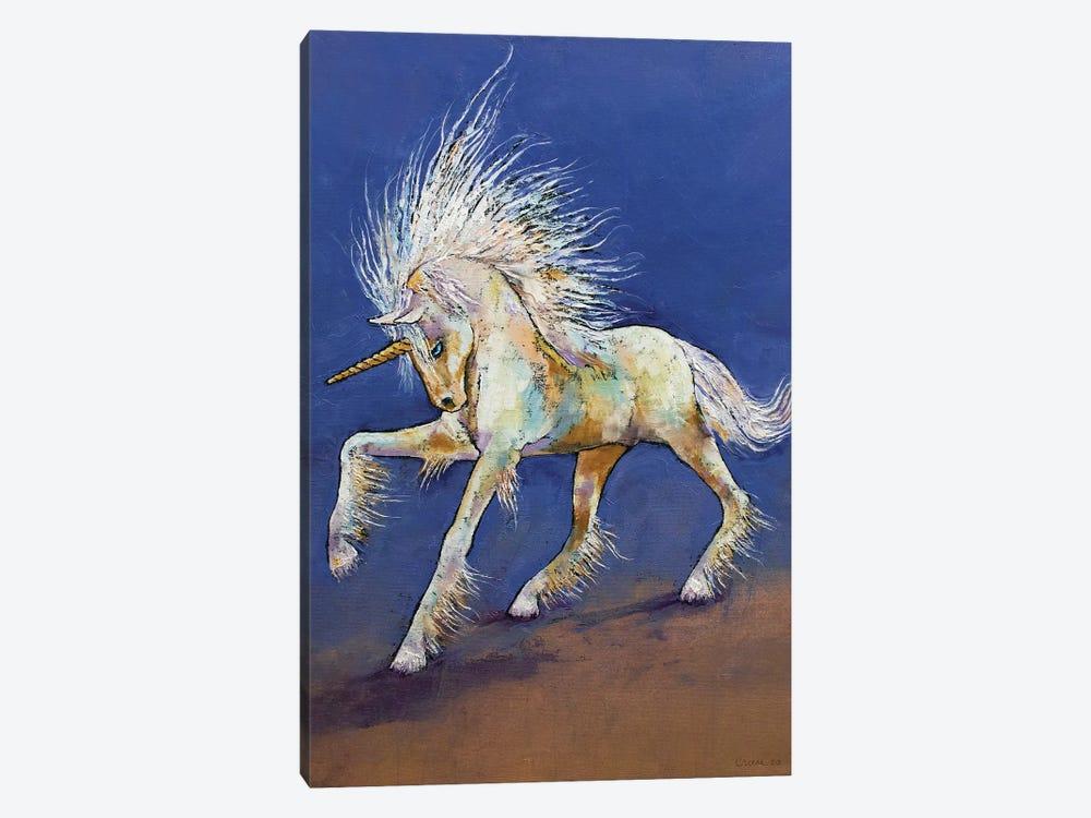 Baby Unicorn by Michael Creese 1-piece Art Print