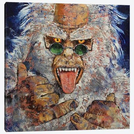 Yeti Canvas Print #MCR267} by Michael Creese Canvas Art