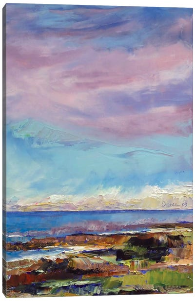 California Seascape Canvas Print #MCR26