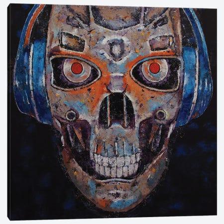 Skull Beats Canvas Print #MCR272} by Michael Creese Canvas Art