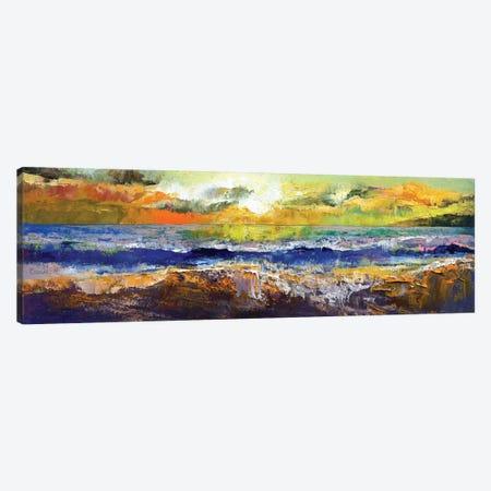 California Waves Canvas Print #MCR27} by Michael Creese Art Print