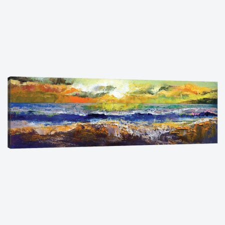 California Waves Canvas Print #MCR27} by Michael Creese Art Print