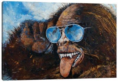 Bigfoot Canvas Art Print