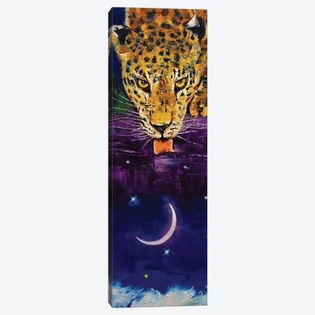 Leopard Moon Canvas Print #MCR283} by Michael Creese Art Print