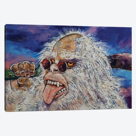 Yeti Machete Canvas Print #MCR289} by Michael Creese Canvas Art Print