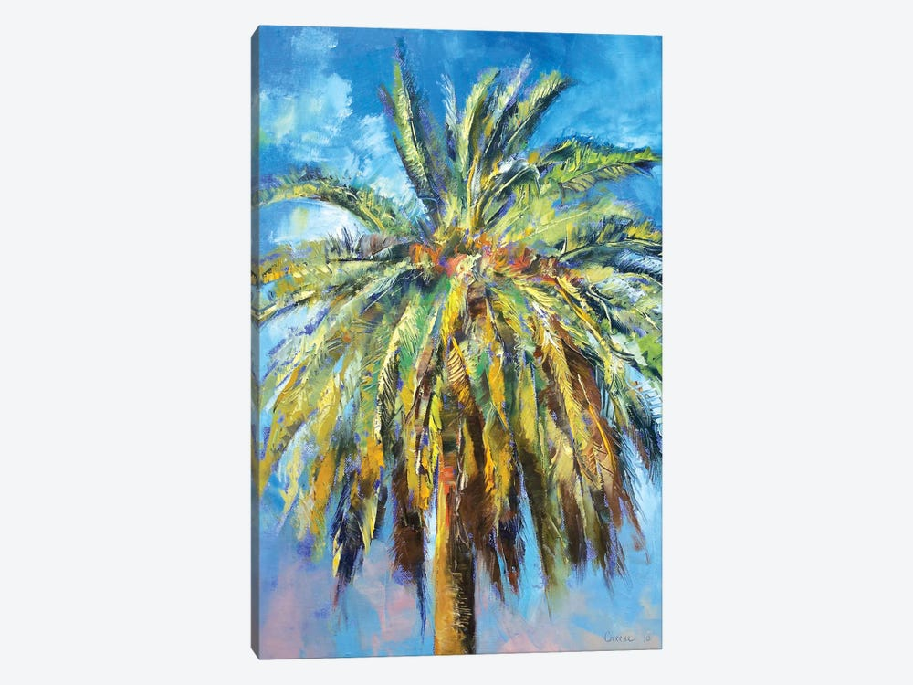 Canary Island Date Palm by Michael Creese 1-piece Canvas Print