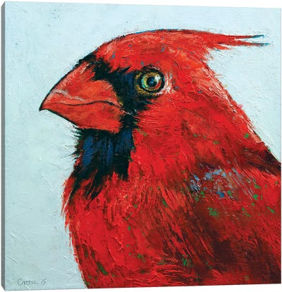 Cardinal Canvas Art Print