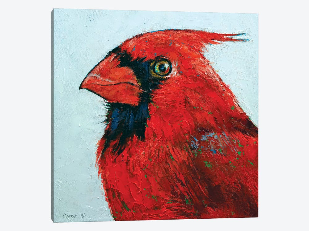 Cardinal by Michael Creese 1-piece Canvas Artwork