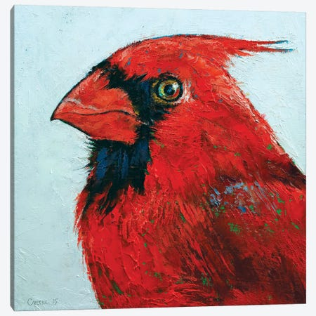Cardinal 3-Piece Canvas #MCR29} by Michael Creese Canvas Art