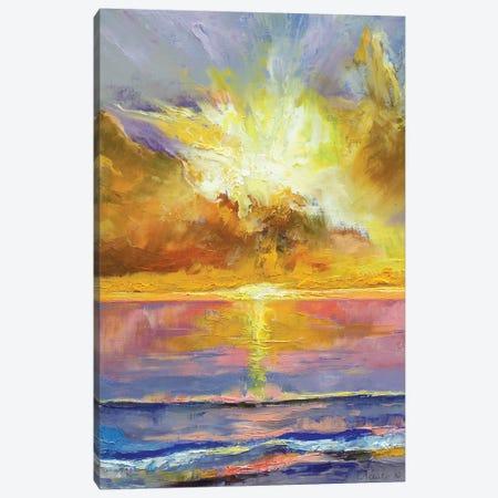 Caribbean Sunset Canvas Print #MCR31} by Michael Creese Canvas Print