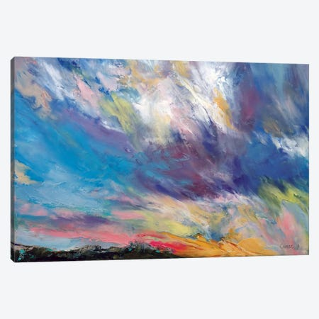 Clouds At Sunset Canvas Print #MCR32} by Michael Creese Canvas Art Print