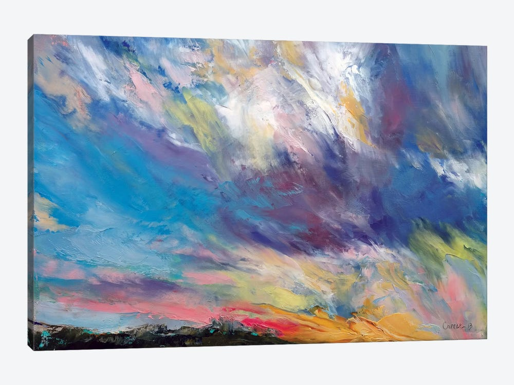 Clouds At Sunset by Michael Creese 1-piece Canvas Wall Art
