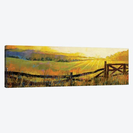 Country Meadow Canvas Print #MCR34} by Michael Creese Canvas Artwork