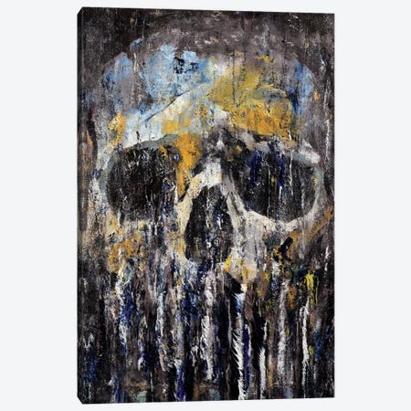 Cthulhu Skull Canvas Print #MCR35} by Michael Creese Canvas Artwork