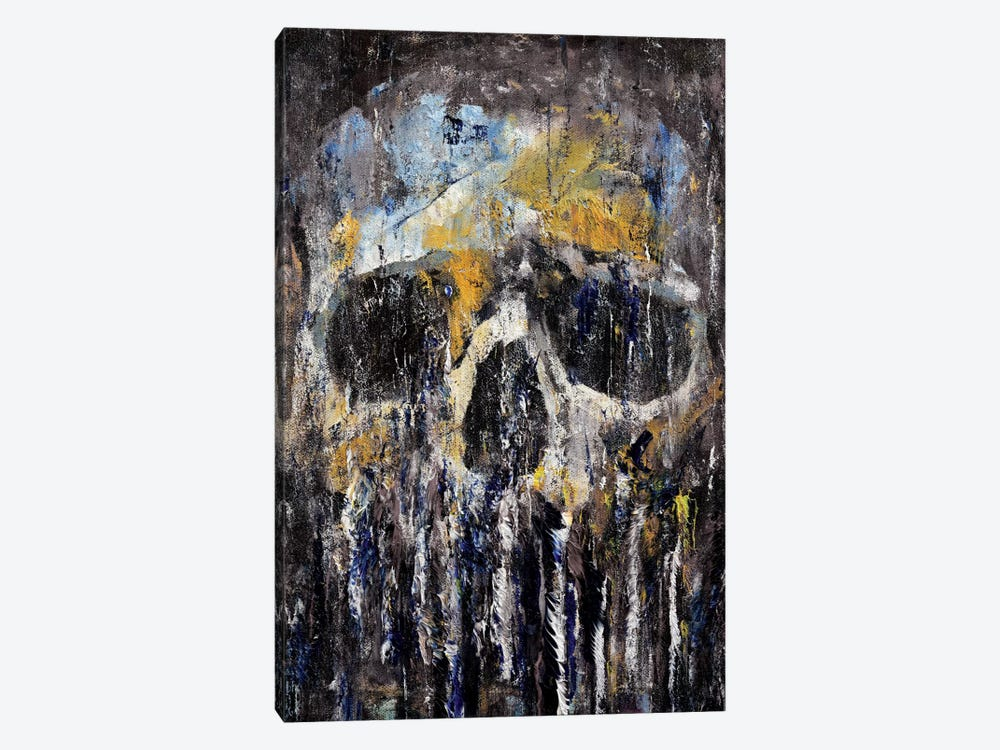 Cthulhu Skull by Michael Creese 1-piece Canvas Print