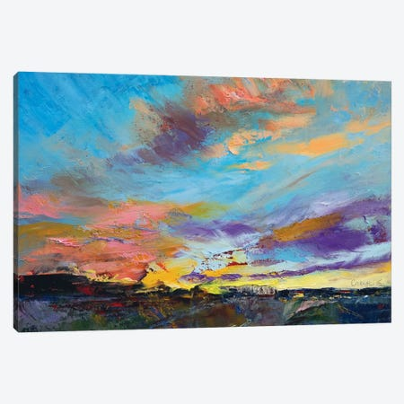 Desert Highway Canvas Print #MCR37} by Michael Creese Canvas Art