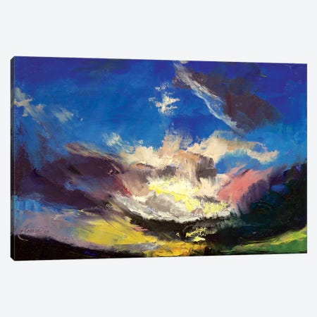 Dragon Cloud Canvas Print #MCR38} by Michael Creese Art Print