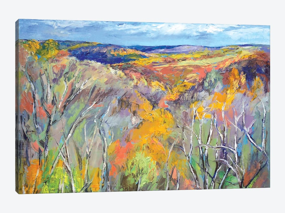Appalachian Trail by Michael Creese 1-piece Canvas Print