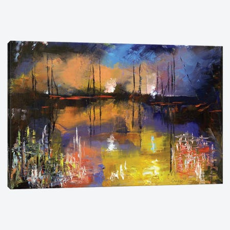 Fireworks Canvas Print #MCR44} by Michael Creese Canvas Print