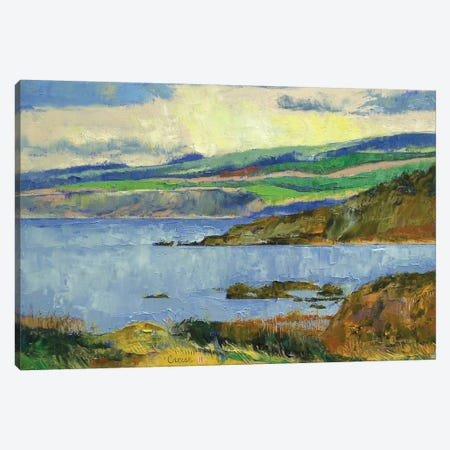 Firth Of Clyde, Scotland Canvas Print #MCR45} by Michael Creese Canvas Print