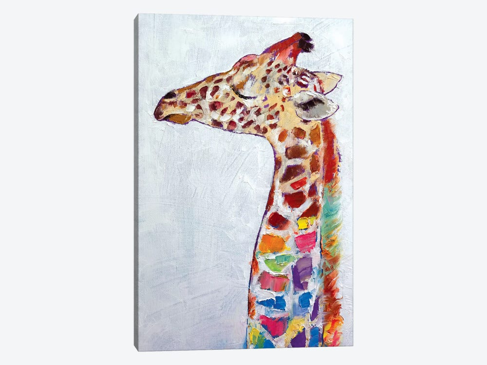 Giraffe by Michael Creese 1-piece Canvas Print