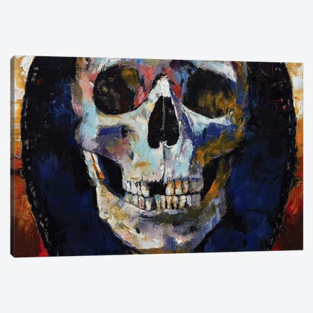 Grim Reaper Canvas Print #MCR48} by Michael Creese Canvas Artwork