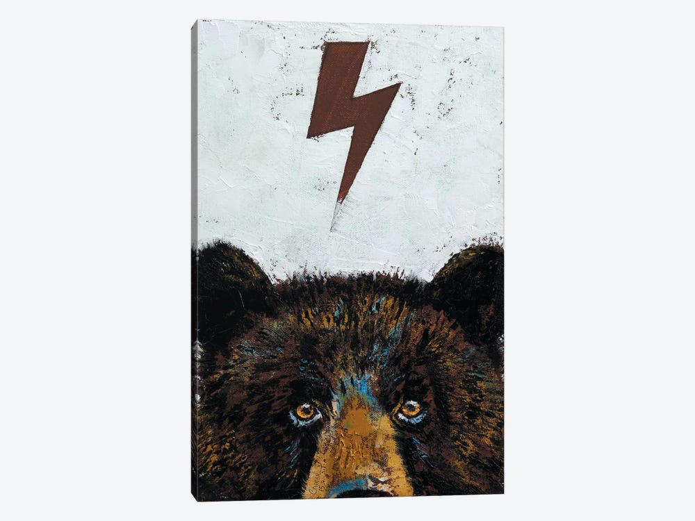 Grizzly Bear by Michael Creese 1-piece Canvas Artwork