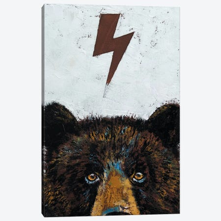 Grizzly Bear Canvas Print #MCR49} by Michael Creese Canvas Wall Art