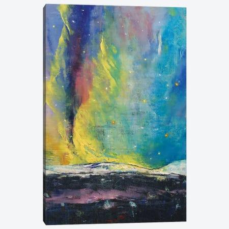 Arctic Lights Canvas Print #MCR4} by Michael Creese Canvas Print