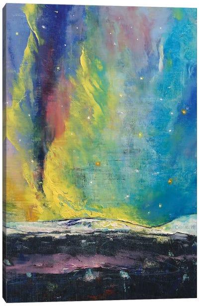 Arctic Lights Canvas Art Print