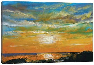 Hawaiian Sunset Canvas Print #MCR50