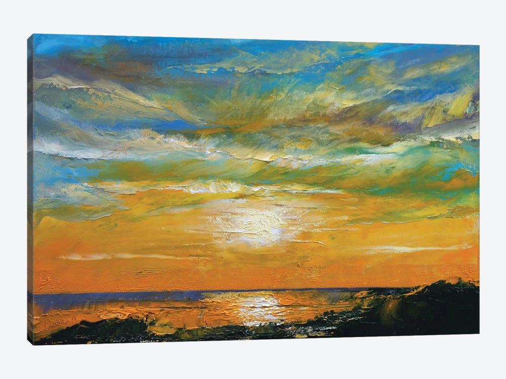 Hawaiian Sunset by Michael Creese 1-piece Canvas Art
