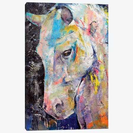 Hidden Heart Horse Canvas Print #MCR52} by Michael Creese Art Print