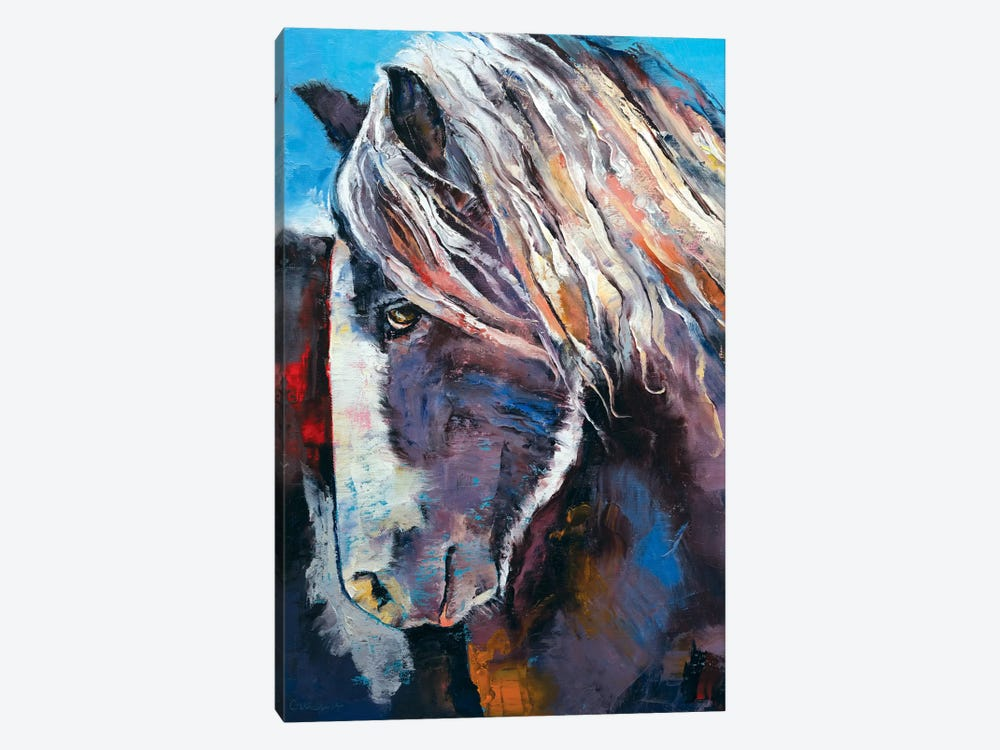 Highland Pony by Michael Creese 1-piece Canvas Art