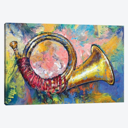 Hunting Horn Canvas Print #MCR58} by Michael Creese Canvas Print