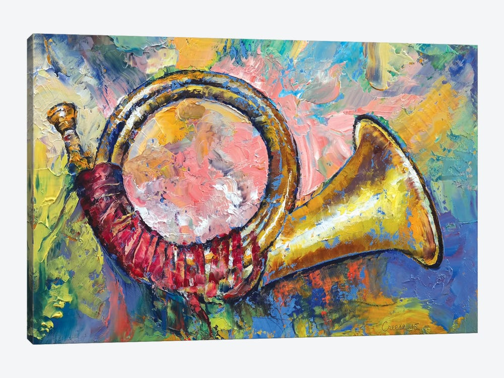 Hunting Horn by Michael Creese 1-piece Canvas Artwork