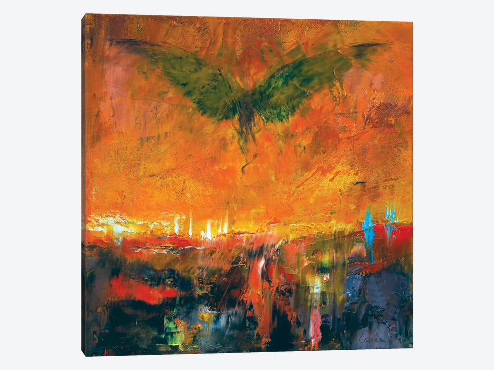 Armageddon by Michael Creese 1-piece Canvas Art Print