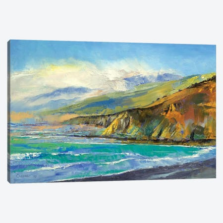 Jade Cove Canvas Print #MCR60} by Michael Creese Canvas Wall Art