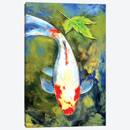 Japanese Garden Canvas Print #MCR61} by Michael Creese Canvas Wall Art