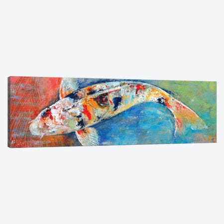 Japanese Koi Canvas Print #MCR62} by Michael Creese Canvas Art