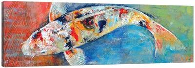 Japanese Koi Canvas Print #MCR62