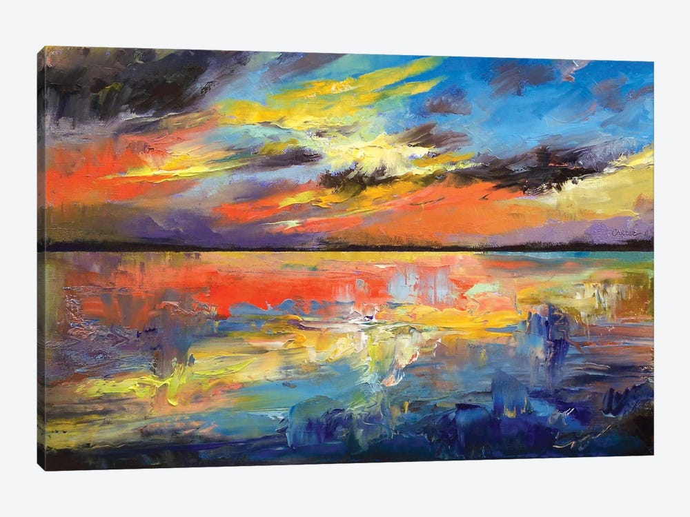 Key West Florida Sunset by Michael Creese 1-piece Canvas Artwork