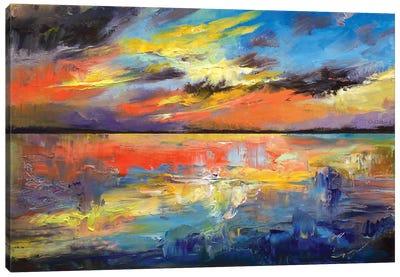 Key West Florida Sunset Canvas Art Print