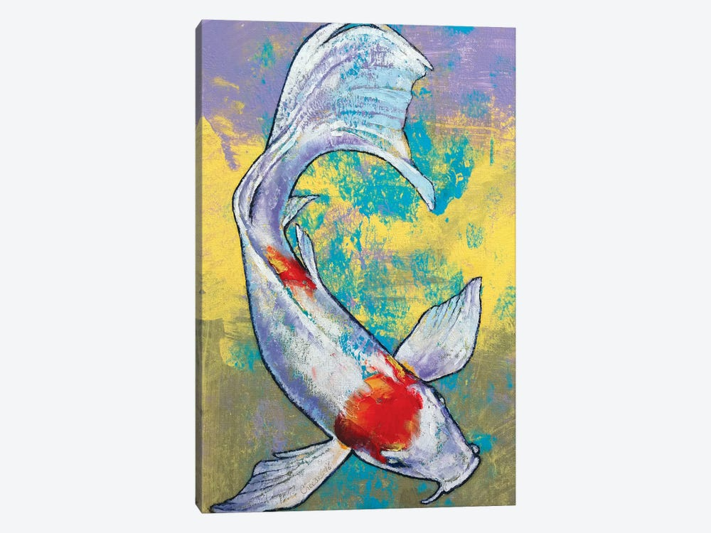 Koi Fish by Michael Creese 1-piece Canvas Artwork