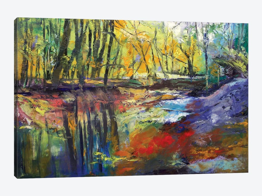 Little Sewickley Creek, 2008 1-piece Canvas Art