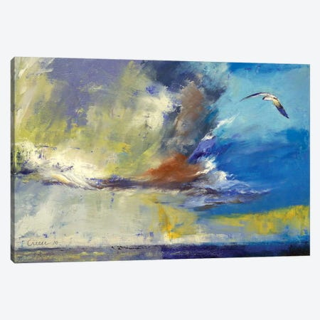 Loneliness Canvas Print #MCR73} by Michael Creese Art Print