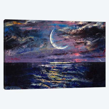 Moon Canvas Print #MCR76} by Michael Creese Canvas Art