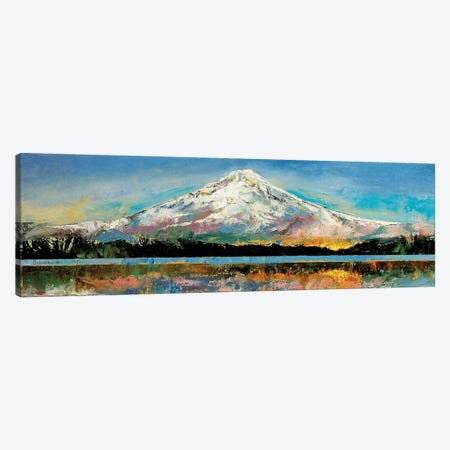 Mount Hood Canvas Print #MCR78} by Michael Creese Art Print